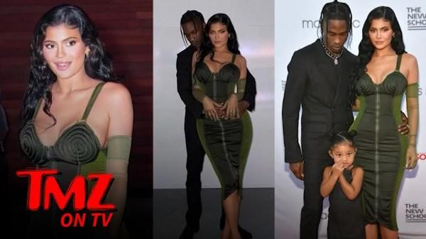 Travis Scott Back to Calling Kylie Jenner 'Wifey,' Stormi Shines at Gala   TMZ TV