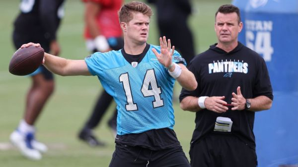 Panthers QB Sam Darnold's vaccine hesitancy shows NFL players are 'microcosm of our country'