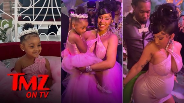 Cardi B & Offset Throw Kulture A Massive 3rd Birthday Party | TMZ TV