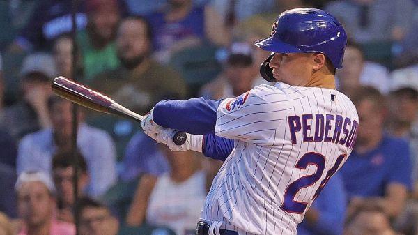 Chicago Cubs trade Joc Pederson to Atlanta Braves for 1B prospect Bryce Ball