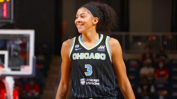 Chicago Sky's Candace Parker to be first woman on cover of NBA 2K