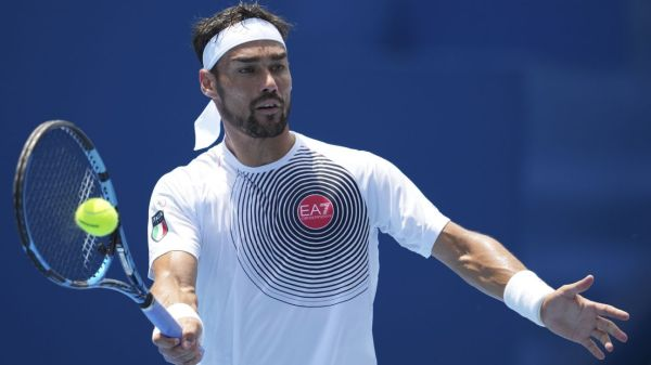 Italy's Fabio Fognini apologizes for use of anti-gay slur in tennis loss at Summer Olympics