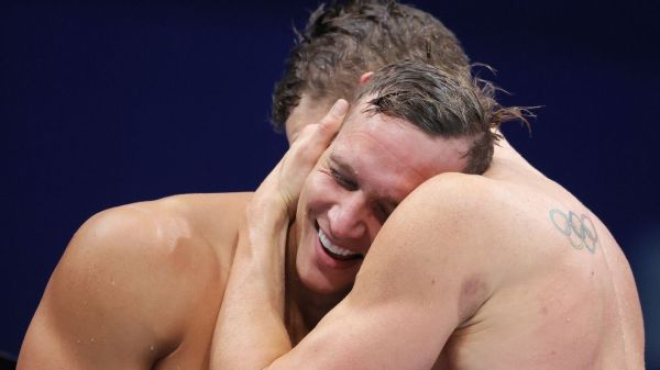 Swimmer Caeleb Dressel wins two more golds, ends Olympics with 5; Bobby Finke wins 1,500 free