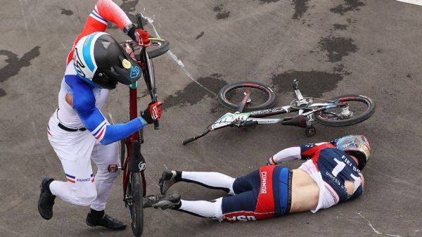 Team USA's Connor Fields out of critical care unit after BMX racing crash at Summer Olympics