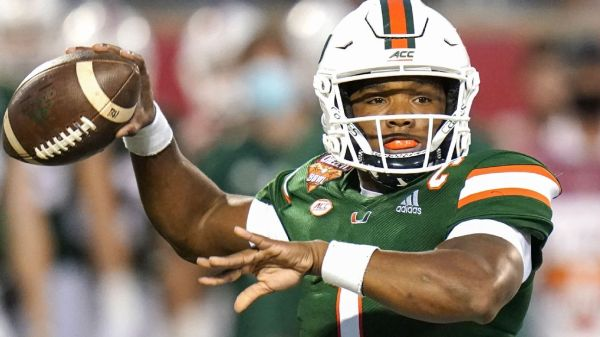 Miami Hurricanes QB D'Eriq King inks NIL deal with NHL's Florida Panthers