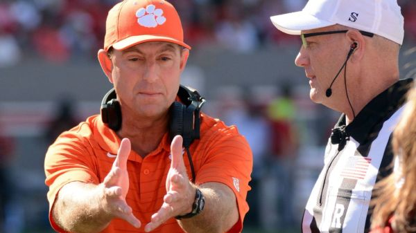 Clemson's stumble becomes free fall with latest college football loss to NC State