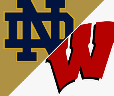Follow live: Notre Dame's Coan faces former team Wisconsin in top-20 showdown