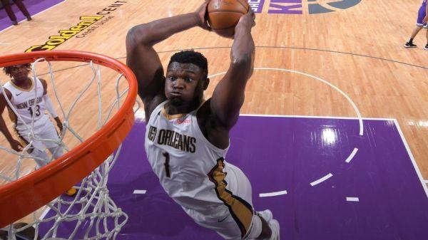 Pelicans' Zion Williamson underwent offseason surgery on broken foot, should be ready for season