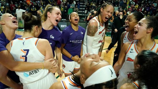 Phoenix Mercury, Chicago Sky reach semifinals with second-round upsets