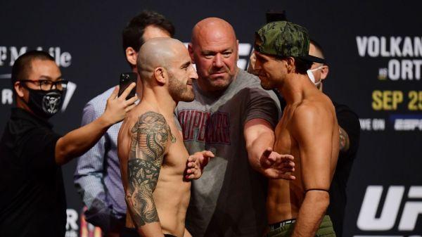 UFC 266 Volkanovski vs. Ortega