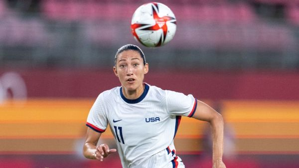 USWNT's Christen Press to take time out to focus on 'mental health, spiritual growth'