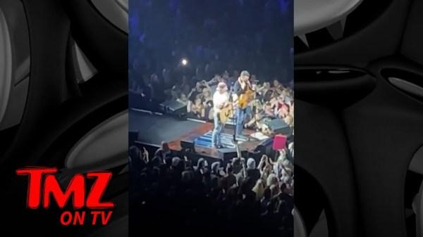Morgan Wallen Gets Huge Applause as Surprise Guest at Eric Church Concert   TMZ TV