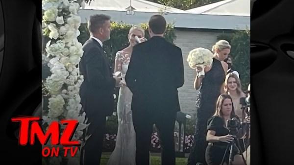 Tarek El Moussa And Heather Rae Young Get Married in Montecito | TMZ TV