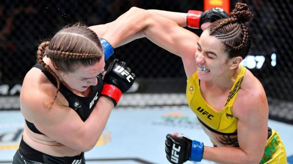 Norma Dumont holds on to beat Aspen Ladd via unanimous decision at UFC Fight Night