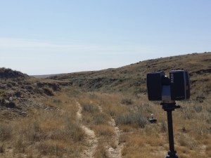 laserscanning the prairie
