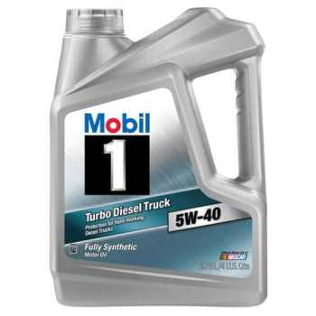 Mobil 1 Turbo Diesel Oil 5W‐40 Review