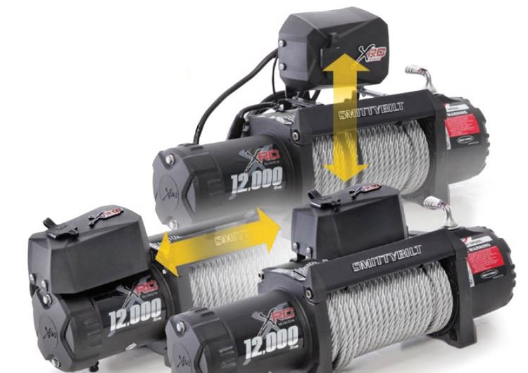 Smittybilt winch Different Solenoid Mounting Options