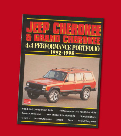 JEEP CHEROKEE & GRAND CHEROKEE 4X4 PERFORMANCE PORTFOLIO '92-'98