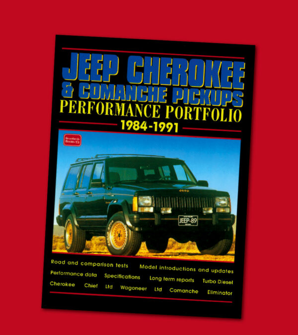 JEEP CHEROKEE & COMMANCHE PICKUPS PERFORMANCE PORTFOLIO '84-'91