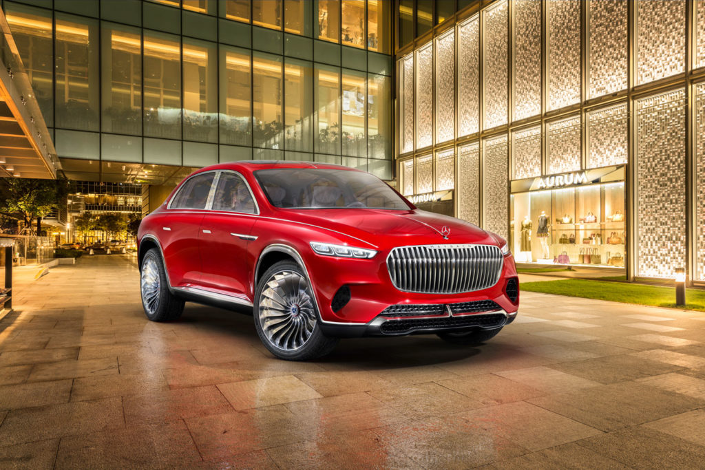 Wereldpremière Vision Mercedes-Maybach Ultimate Luxury