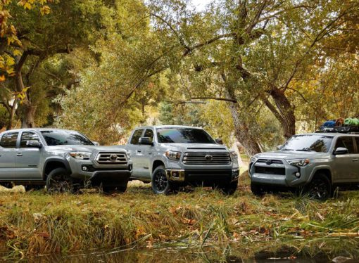 Debuut Toyota Tacoma-, Tundra- en 4Runner Trail Editions