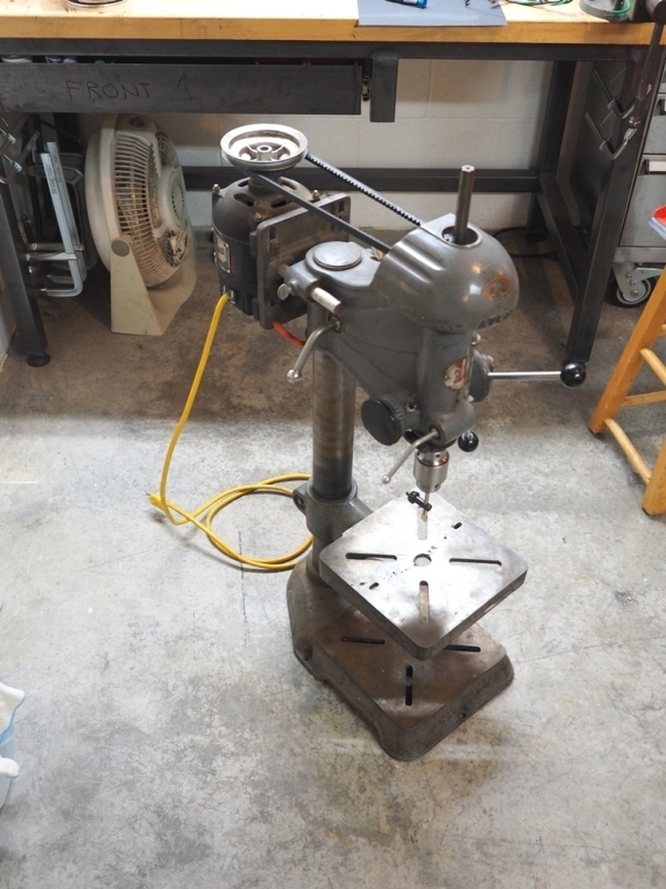 Old Rockwell Drill Press Parts