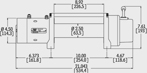 For Badland 5000 Winch Solenoid Wiring Diagram Mile Marker