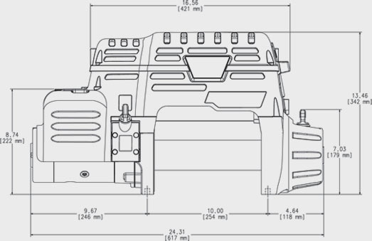 warn power plant wiring diagram jeep winches winner