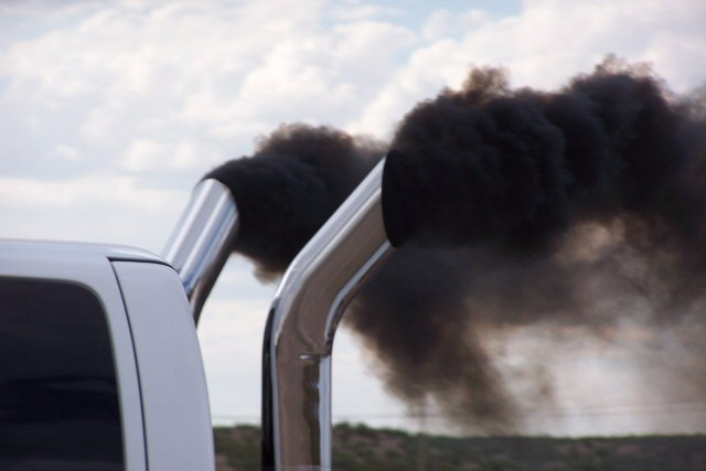 truck exhaust pipe gets too noisy