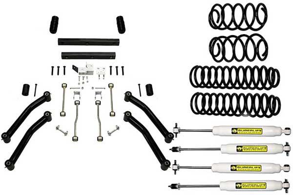 Superlift Suspension Lift Kits for 1997-02 Wrangler TJ