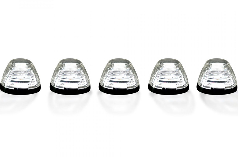 Recon 5-Piece Cab Roof Lights for 1999-18 F250/F350/F450