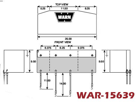 Warn Fairlead Protection, Winch and Fairlead Protection