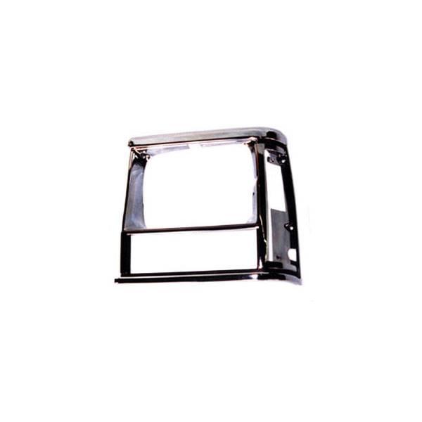 Omix-Ada #12419.13 LH Chrome, Headlight Bezel; 91-96 Jeep