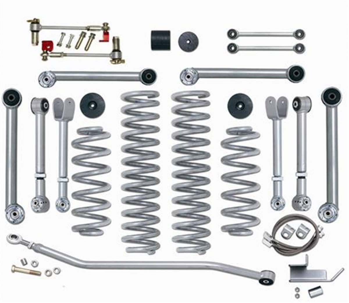Rubicon Express #RE7000-3 Super-Flex Suspension Lift Kit