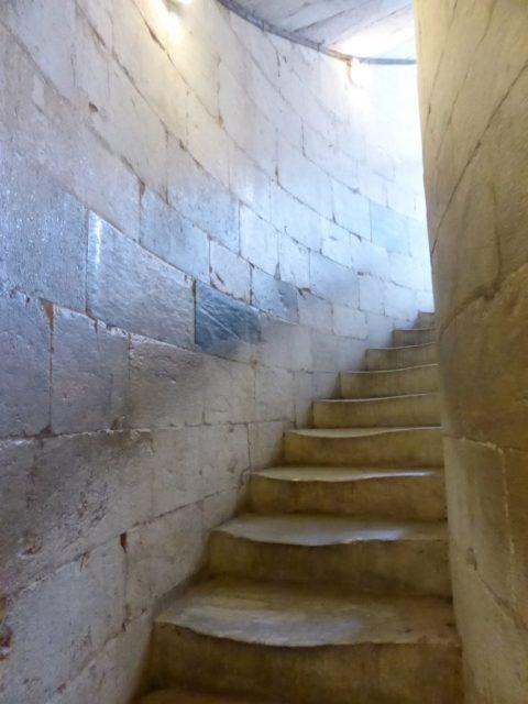 Worn steps