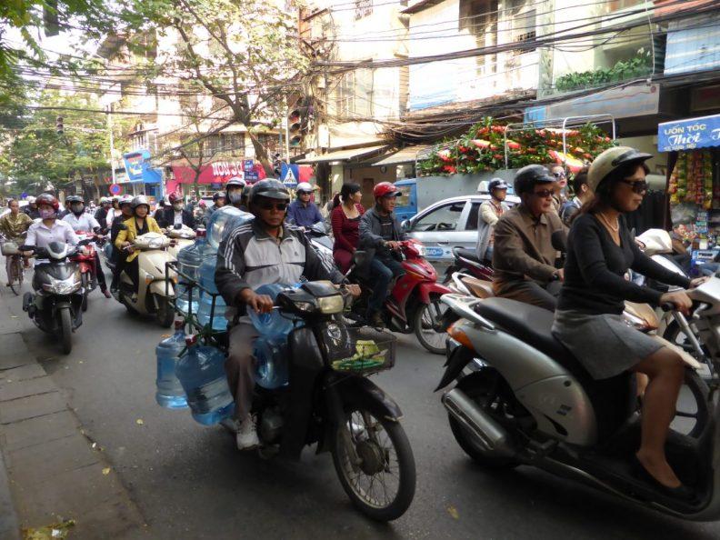 Hanoi motorbikes