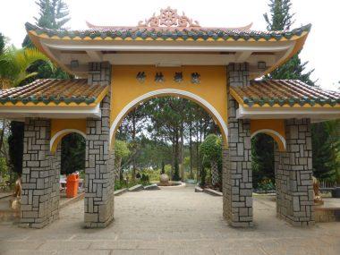 Truc Lam Buddhist Temple and Monastery DaLat Vietnam