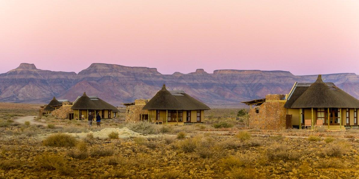 namibia, itinerary