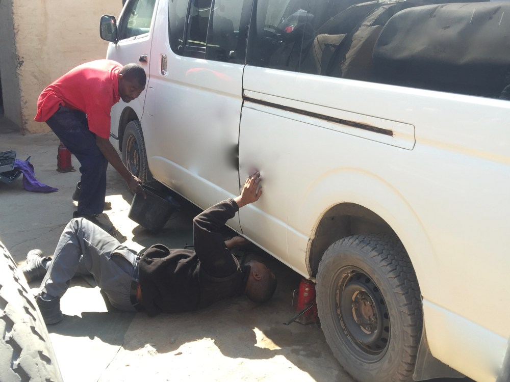 namibia, mechanic, damaraland