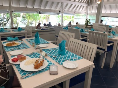 Club Rinnalhi dining room