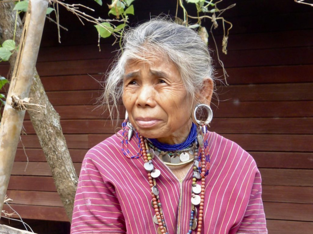 Kayaw woman Myanmar