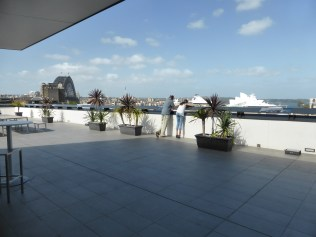 The hostel's best feature…the rooftop terrace with a view!
