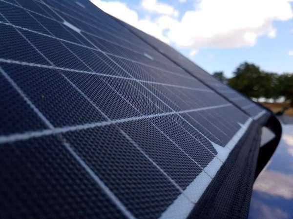Solar blanket ETFE