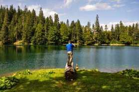 Na Zabojskom jezeru