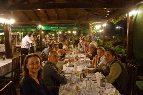 Večera na Biljaninim izvorima