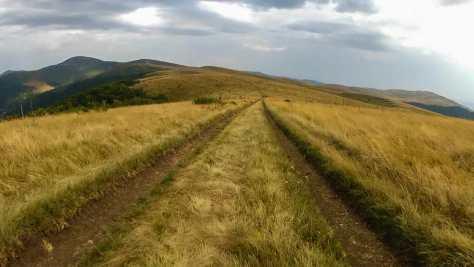 Across the endless highland plains