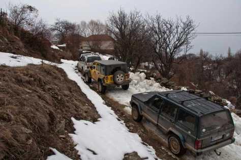 Kroz selo Milevci