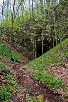 Улаз у Хајдучку пећину