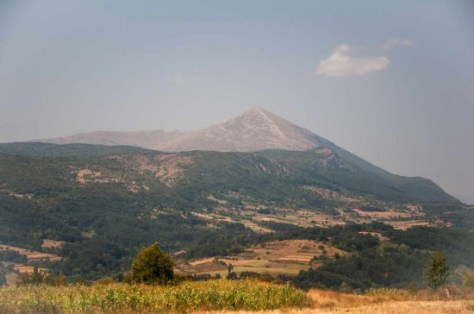 Mount Rtanj - the Serbian Fuji