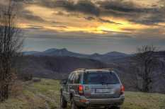 Towards the mystical western peaks